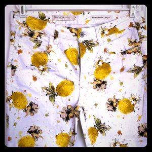Pilcro and the Letterpress 🍋 Lemon Ankle Pants
